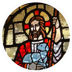 Stained Glass Image of Our Lord and Savior